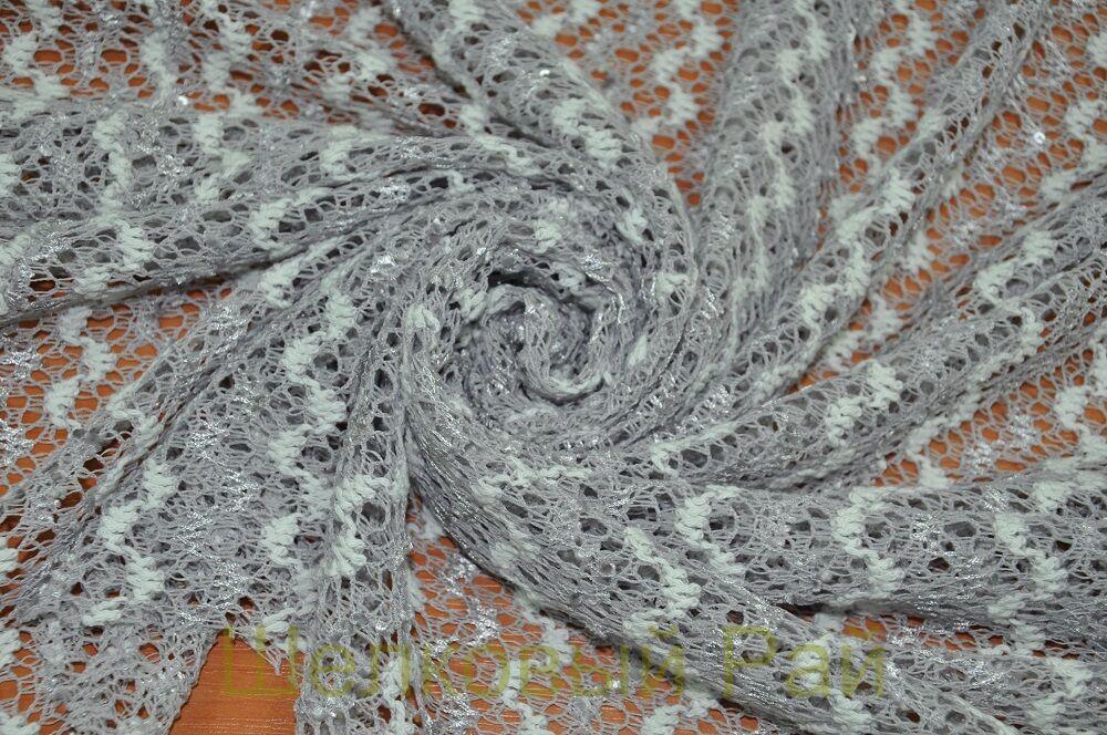 купить вязаное трикотажное полотно Missoni с пайетками в москве